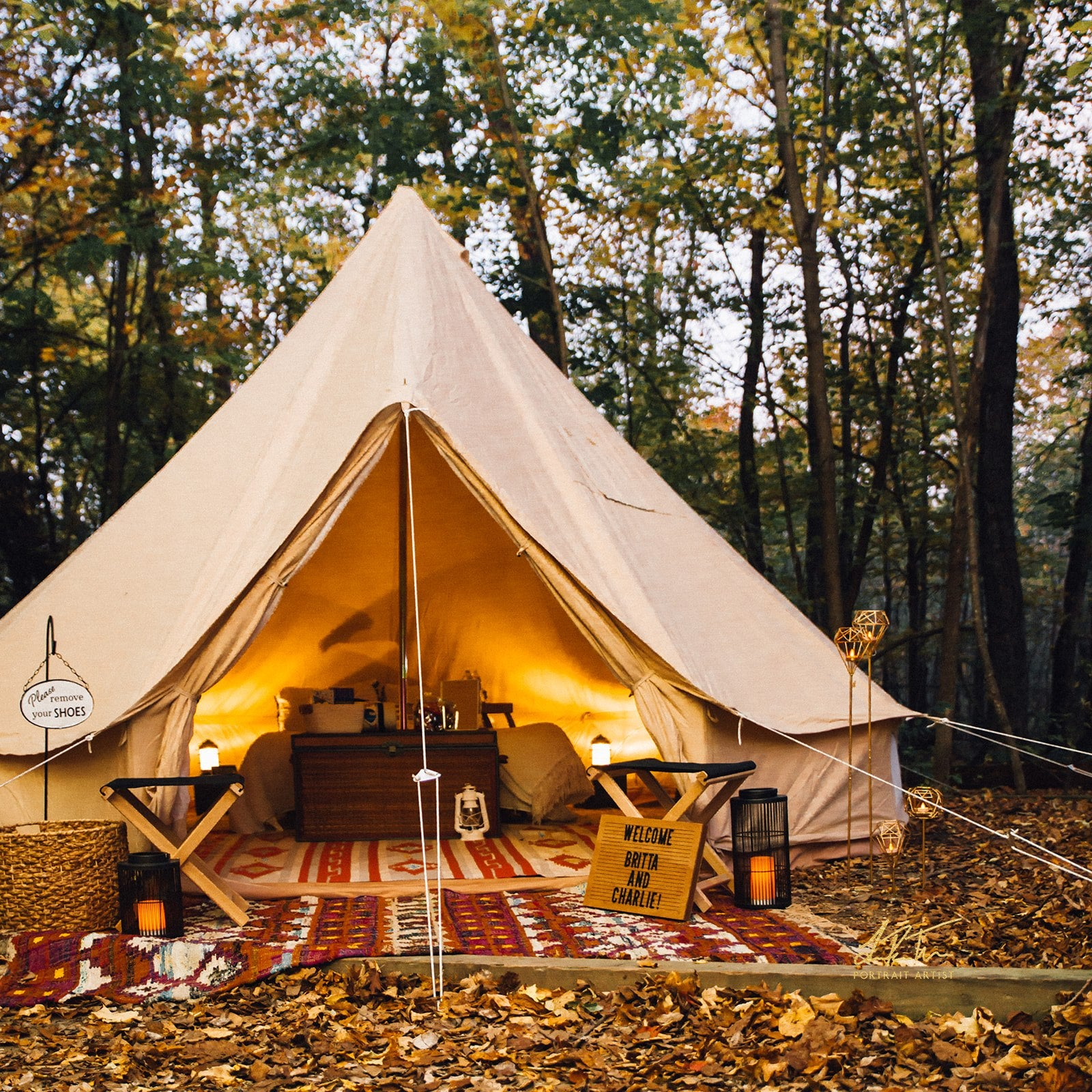 Glamping for Two