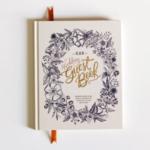 Non-Traditional Wedding Guest Book
