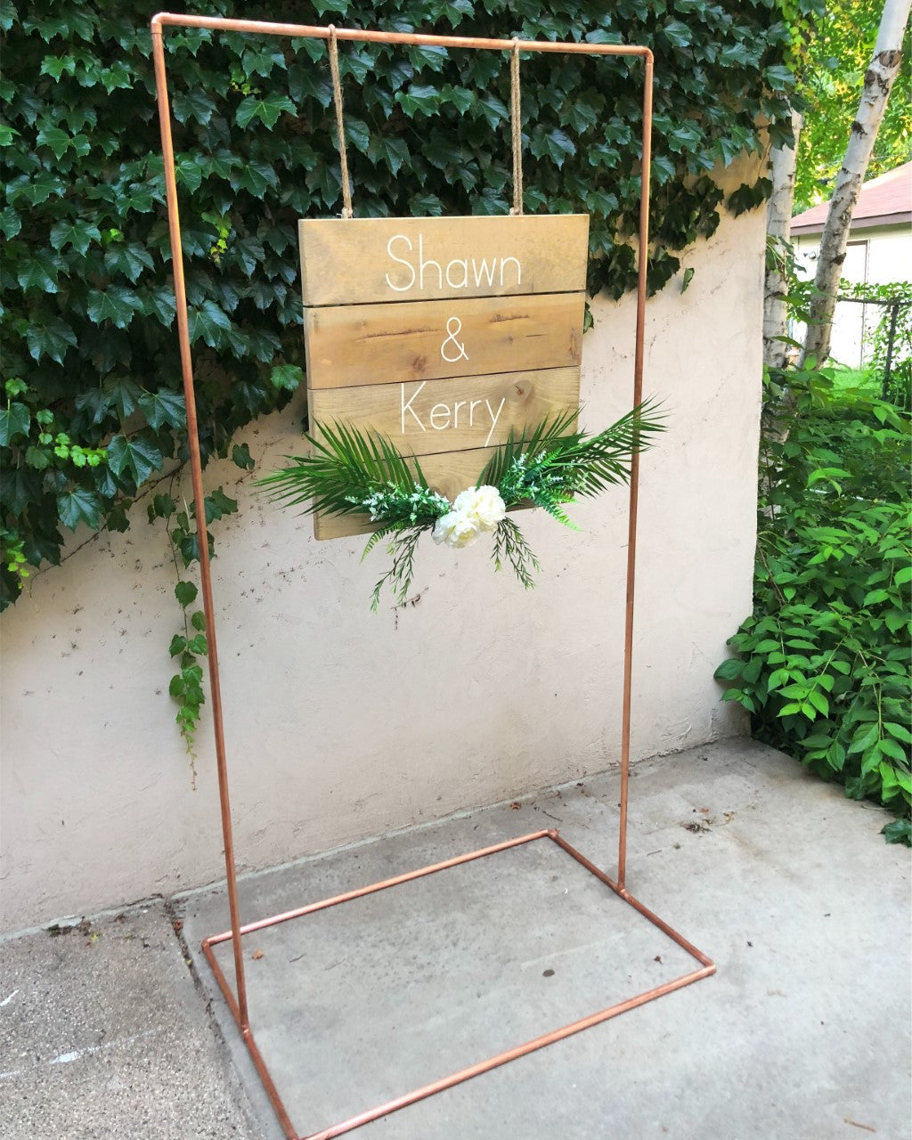 Custom Wood Sign - The Wedding Market