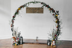 Circle Wedding Arch - The Wedding Market