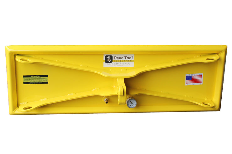 ES Pad Size 12 x 36 for picking up to 1,640 lbs horizontal and 492 lbs. Vertical.