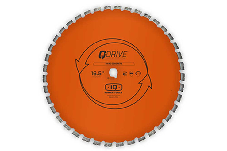 "16.5"" hard concrete blade, combination blade for iQMS 3625, 16.5"" blade"