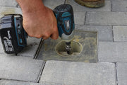 Quick-E-Adjustable Patio Drain, Adjustable Drain, Drain, Floor Drain, Paver Patio Drain, Paver Drain, Drainage