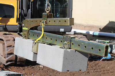 Quick-E-BL 980, Block Clamp, Step Clamp, Curbing Clamp, BL 980, 980, Clamp