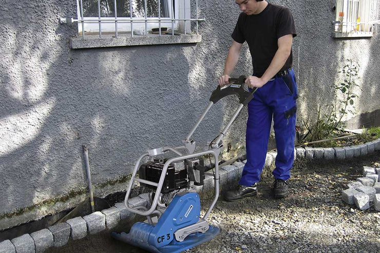 WeberMT CF3 compaction equipment for the hardscaping industry sold by Pave Tool
