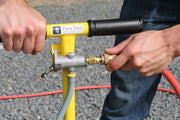 The ES 25' Hose for the Elite Suction System by Pave Tool Innovators to Use with the ES Standard Power Pack or ES Wireless Power Pack and ES T-Handle. Can be used also with a Compressor, the ES T-Handle and ES Inline Venturi