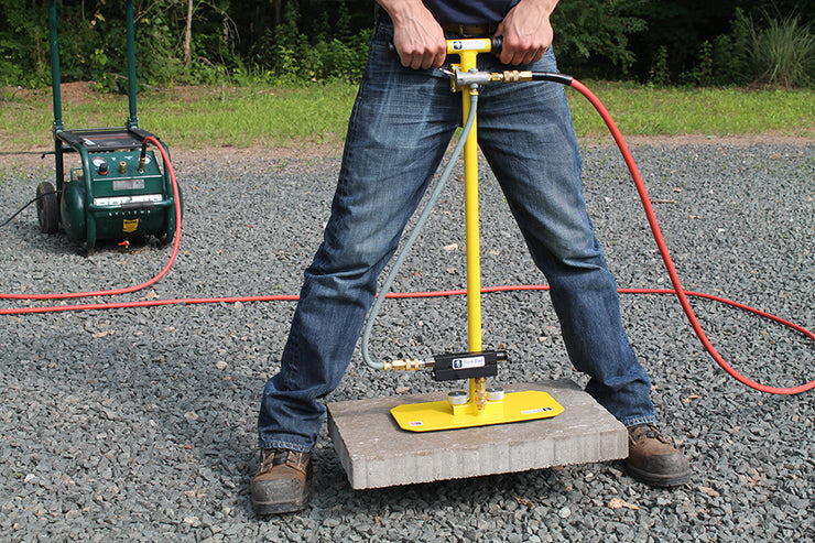 "ES Pad Size 6.5"" x 13"". Made to pick a 3 piece system using the ES T-Handle with ES Power pack or the ES HV Venturi with a compressor, Pick Natural Stone, Natural Stone Grabber, Paver Grabber, Suction Tool, Suction Grabber"