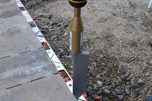 Quick-E-Hammer for Hammering Quick-E-Hybrid Stakes into Quick-E-Hybrid Edging or Landscape Spikes into Edge Restraint or Quick-E-Hybrid Edge Restraint
