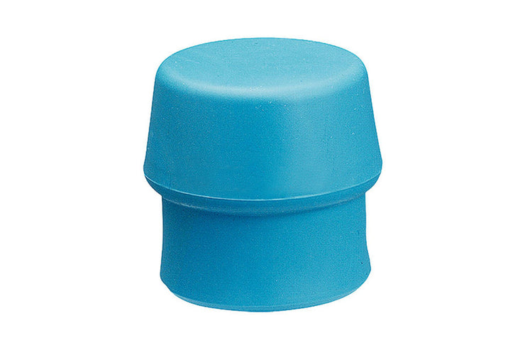 "Halder Simplex 60 Replacement Face Insert, Soft Blue Rubber, Non-Marring.  2.36"" Face Diameter, .30 lbs.  Soft Rubber"