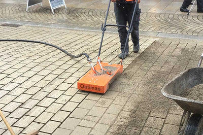 Joint Cleaner - Specially designed for cleaning respectively renovation of paved surfaces.  Simple blowing out of joint-material via compressed air.