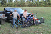 Plow Mount Orgainzer, 18FT of Cargo Space, for camping, hardscaping, landscaping and for all other uses including bikes