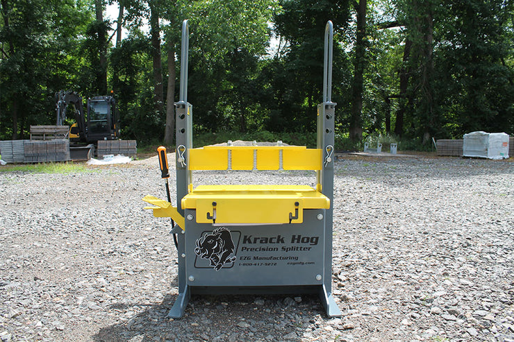 The Kracker, Krack Hog Paver Wall Block Splitter