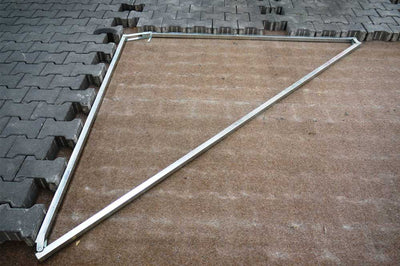 Optimas sold by Pave Tool metal Maxi Square or called Angle Guide to create straight edges for large commercial jobs