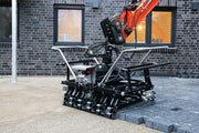 Optimas, sold by Pave Tool Innovators Multi 6 Head is for lifting rows of pavers of a pallet