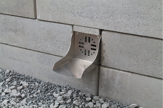 Quick-E-Retaining Wall Spillway