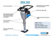 Weber SRV 300 Rammer - Call 860-870-8665 for Special Pricing & Payment Options