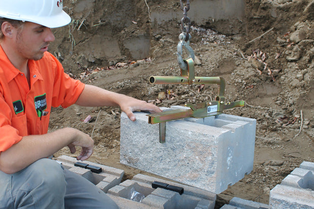 Quick-E-BL180 laying retaining Wall Block