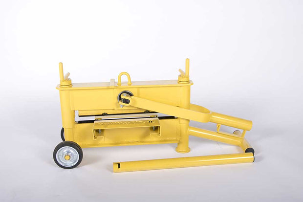 Optimas Slab Splitter/cutter sold by Pave Tool that allows a contractor in the hardscaping business to cut slabs up to 17""