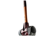 "Halder Simplex 60 Mallet with Red Plastic and Stand-Up Black Composite Rubber Inserts 2.36"" Face Diameter, 3.37 lbs, 15.94"" Overall Length"