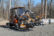 T-22 large paver laying equipment allows for a full layer of pavers to be laid at one time for the hardscaping industry