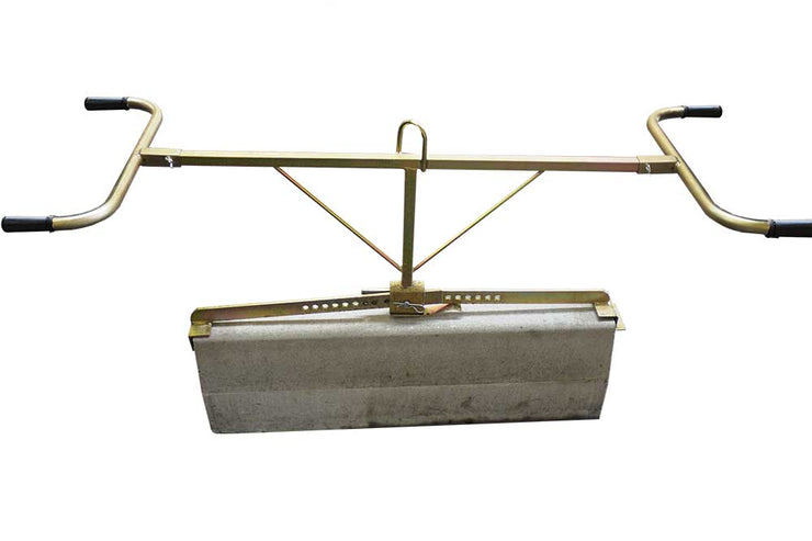 Optimas Two man handle slab clamp to pick up hardscaping block