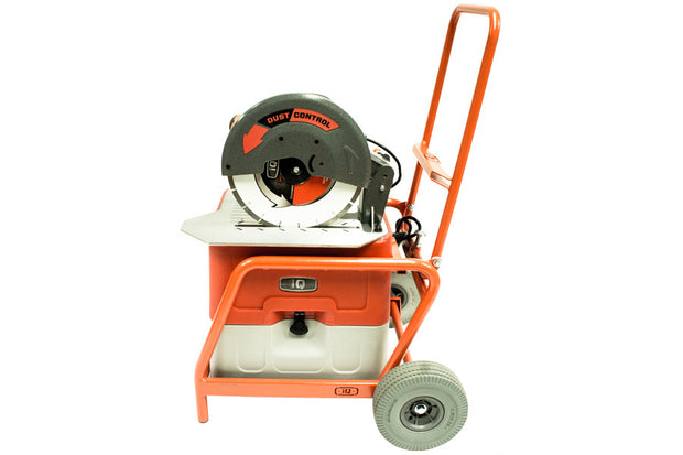 iQ360x Dustless Saw in Smart Cart