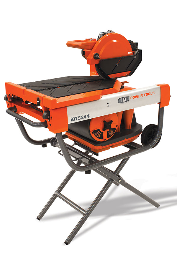 iQTS244 iQ Power Tools Tile Saw, Dustless Tile Saw, Tile Saw