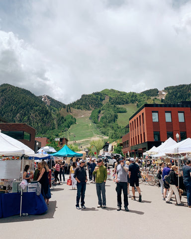 Aspen Saturday Market, Aspen Farmers Market