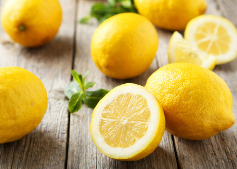 lemons, health benefits of lemons