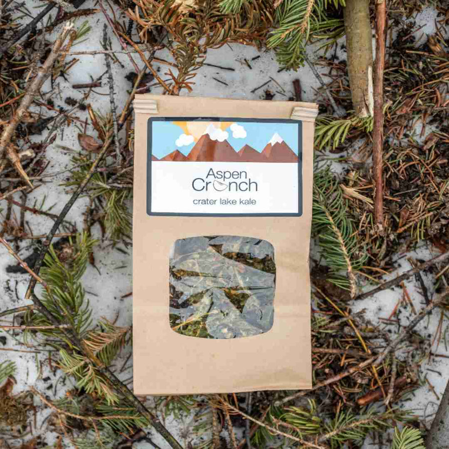 Crater Lake Kale – Aspen Crunch's Organic Kale Chips