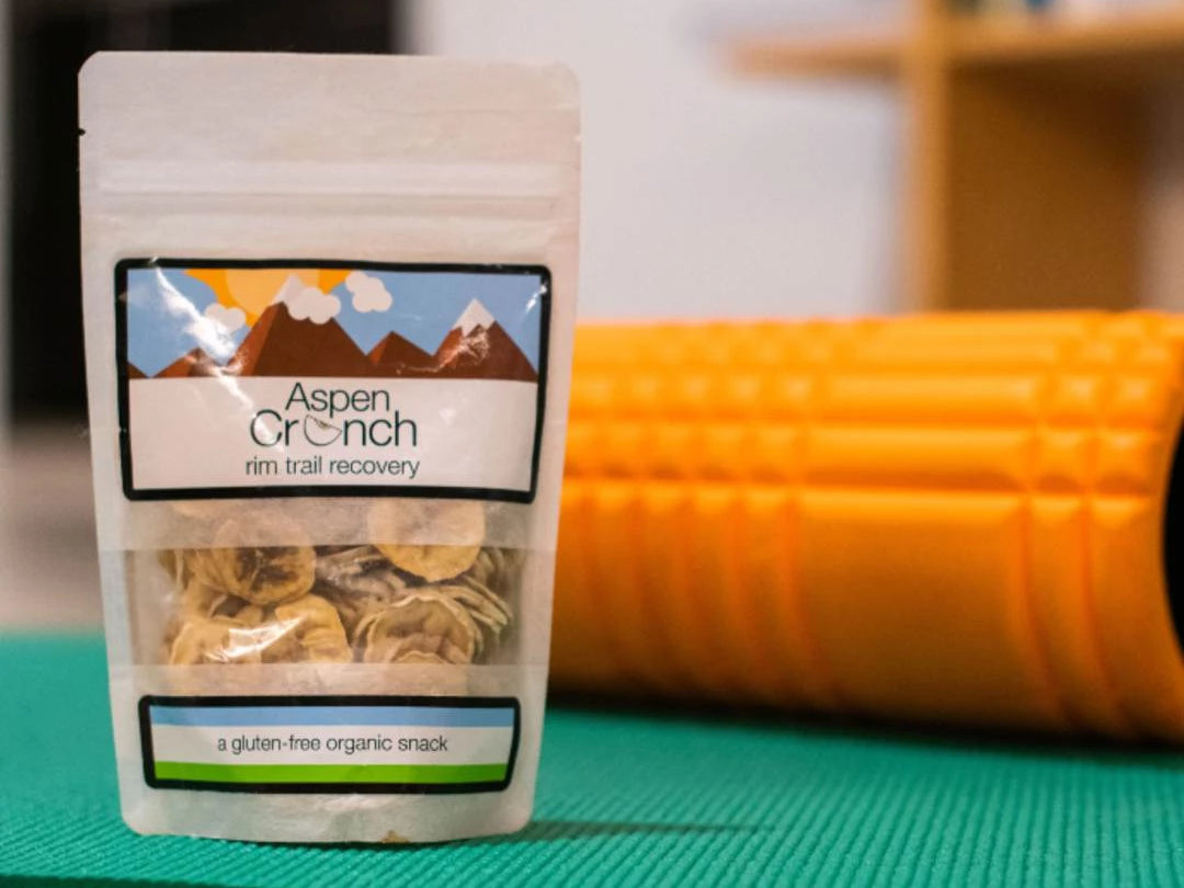 Rim Trail Recovery – Aspen Crunch's Dehydrated Banana Chips