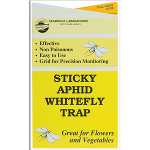 Yellow Sticky Aphid Whitefly Trap Pack of 5