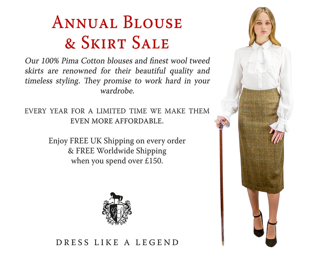Great Scot Skirt & Blouse Sale