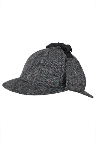 Tweed Deerstalker Hat (Etive Grey)