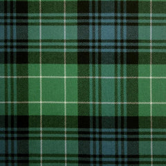 Great Scot Tartan Plaid Abercrombie Ancient Green Blue White