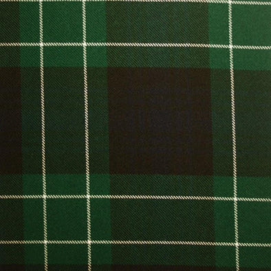 Great Scot Tartan Plaid Abercrombie Modern Green Blue White