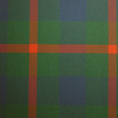 Great Scot Tartan Plaid Agnew Ancient Green Orange Blue