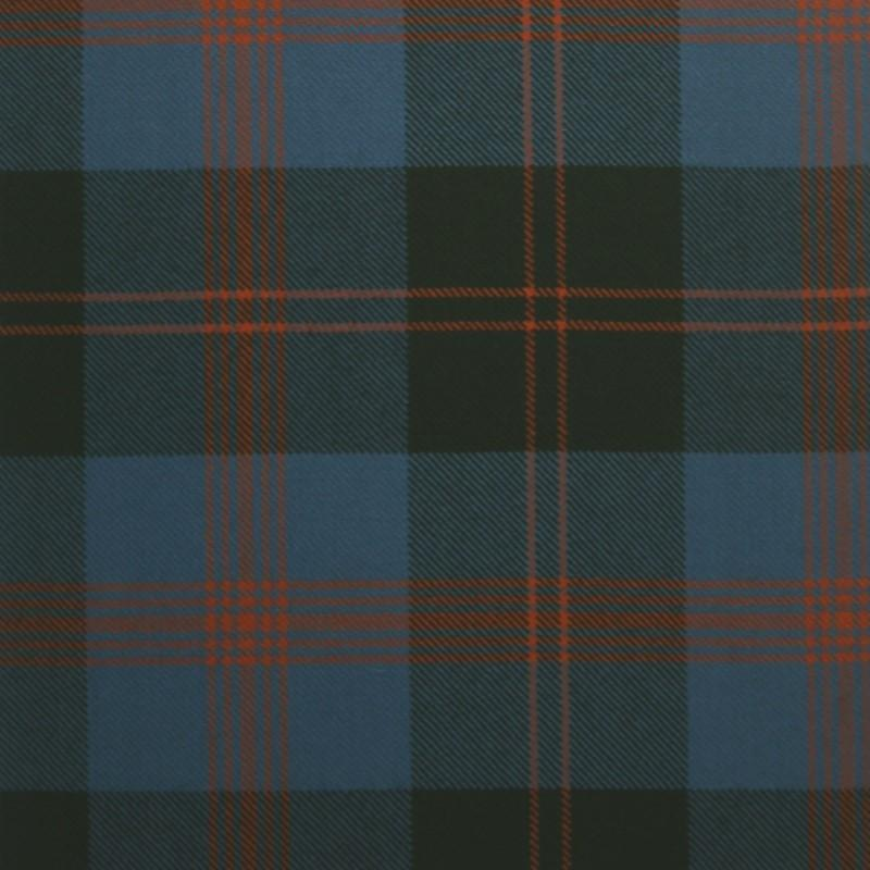 Great Scot Tartan Plaid Angus Ancient blue red