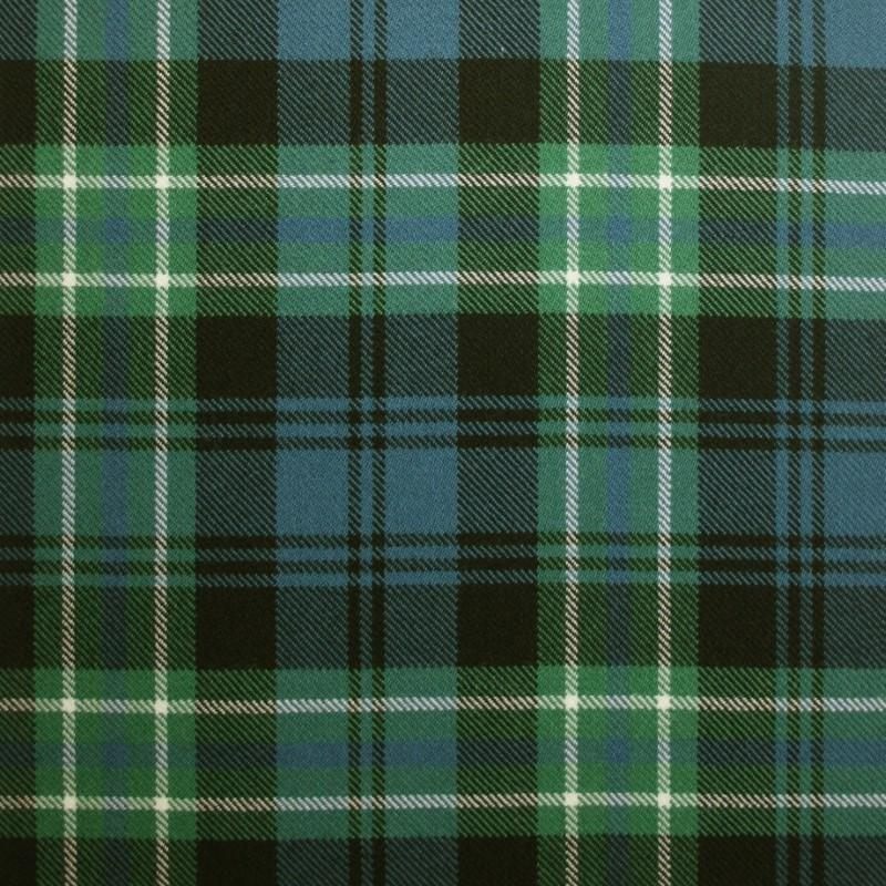 Great Scot Tartan Plaid Arbuthnot green blue white check