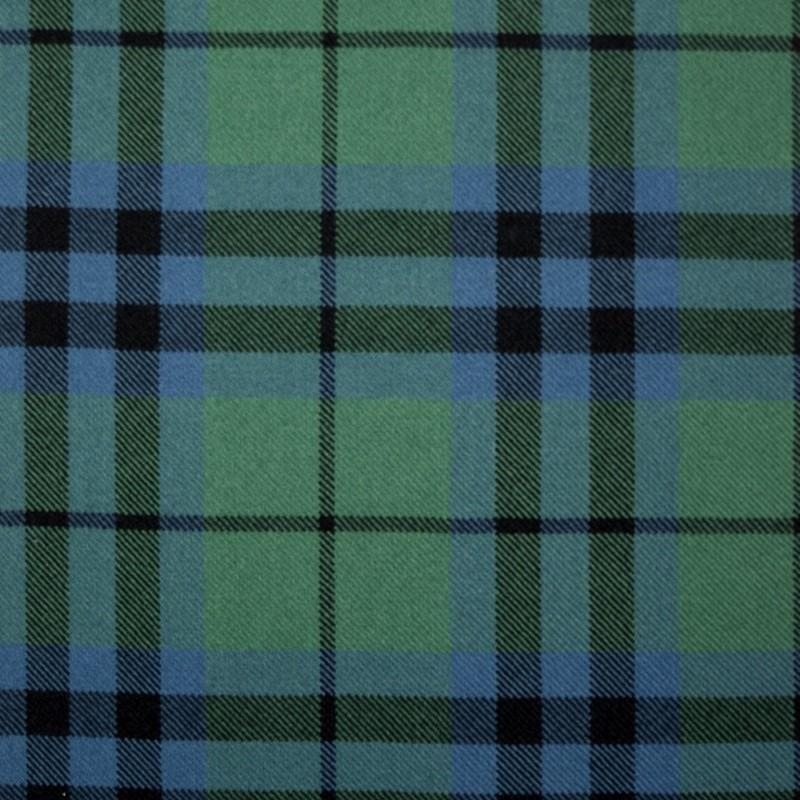 Great Scot Tartan Plaid Austin Ancient green blue