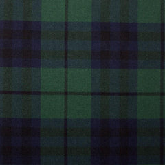 Great Scot Tartan Plaid Austin Modern Green Blue dark blue