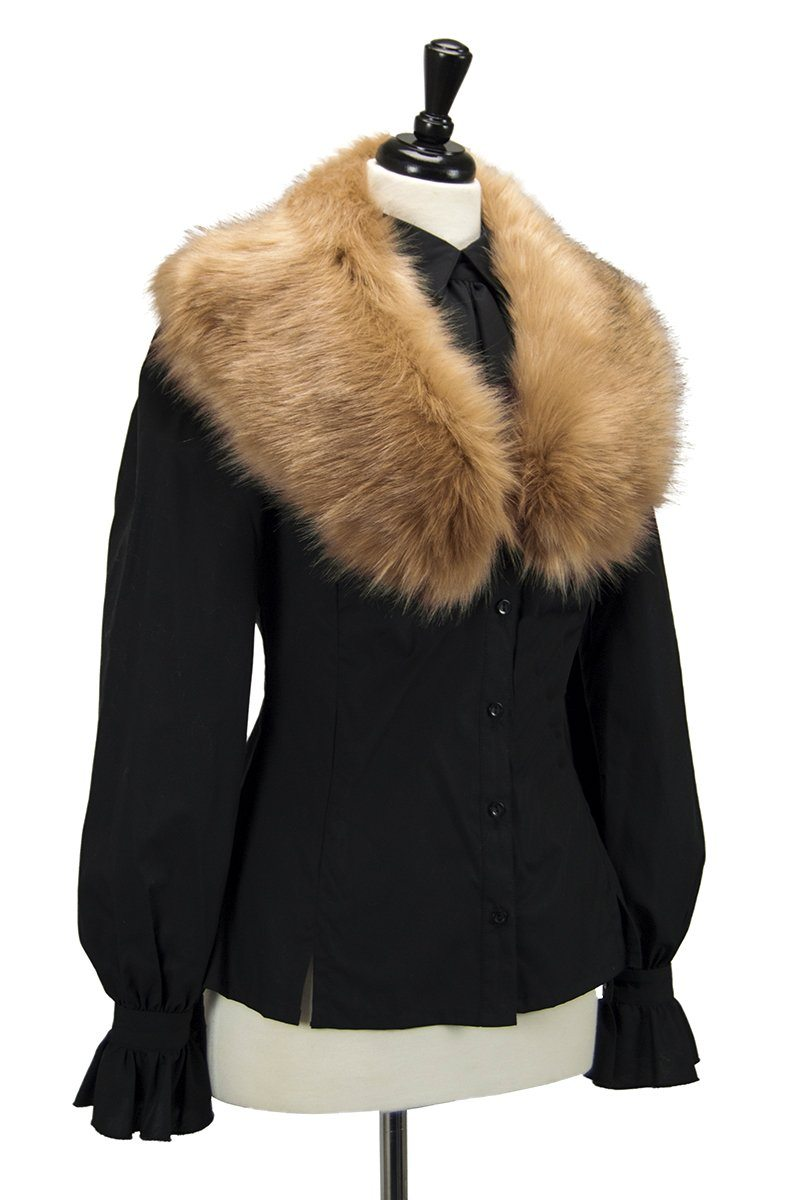 ARRYN Luxury Faux Fur Collar (Winter Blonde)