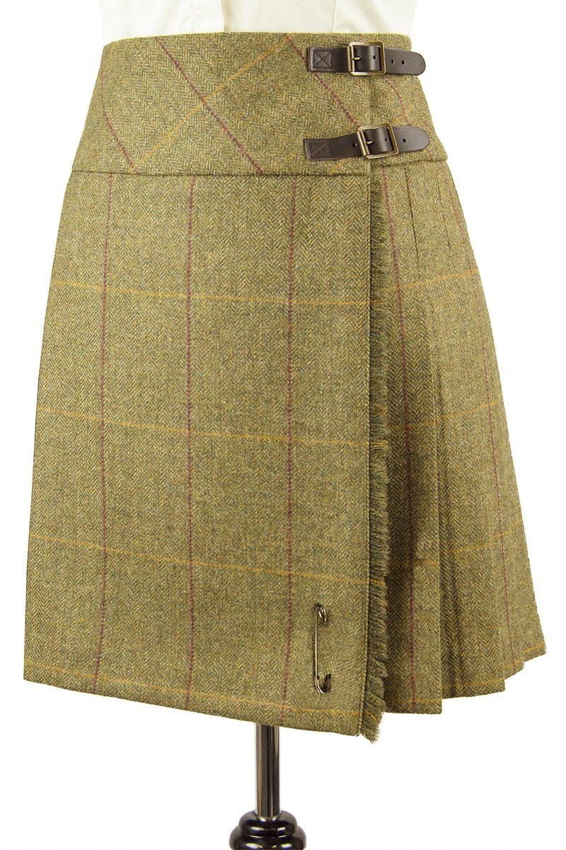 Lady's Kilted Skirt (Kenmore Tweed)