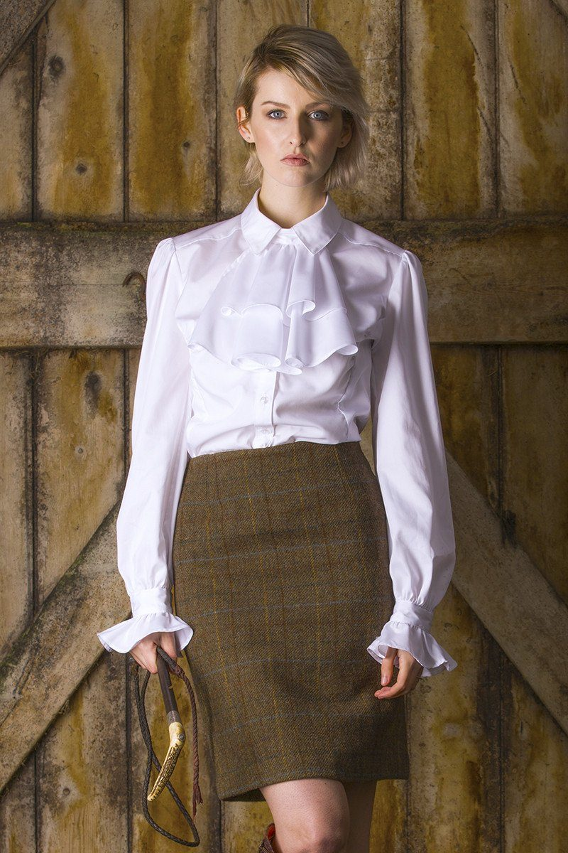 Tailored Skirt (Fiddich Tweed) Short & Long lengths
