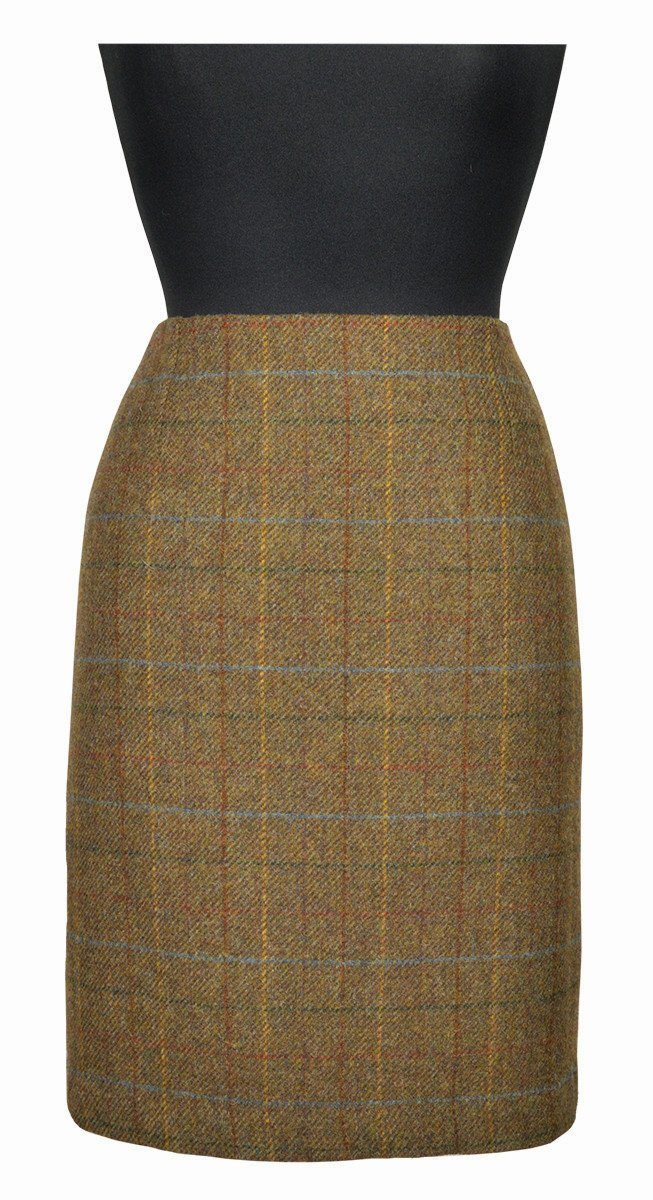 Great Scot Tailored Skirt Fiddich Tweed 21""