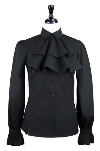 The Great Scot Flawless Blouse (Jet Black)