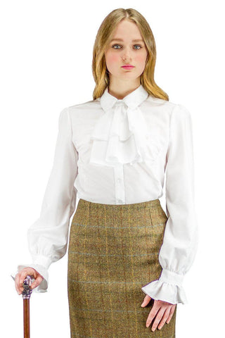 The Great Scot Flawless Blouse (Fresh White)