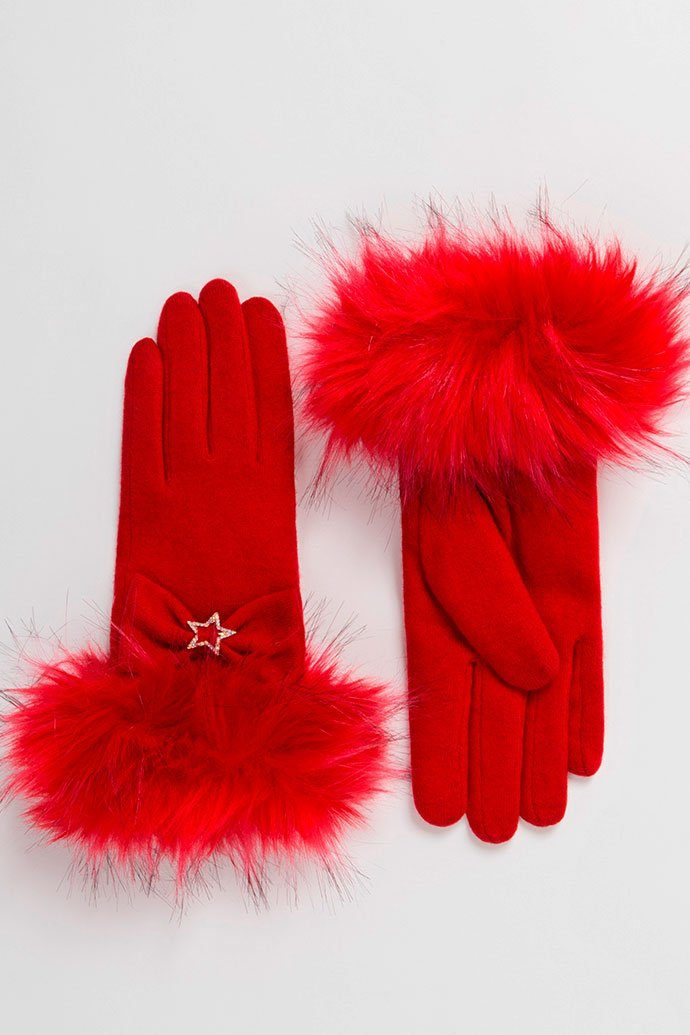 Freya Glove (Pillar-Box Red)