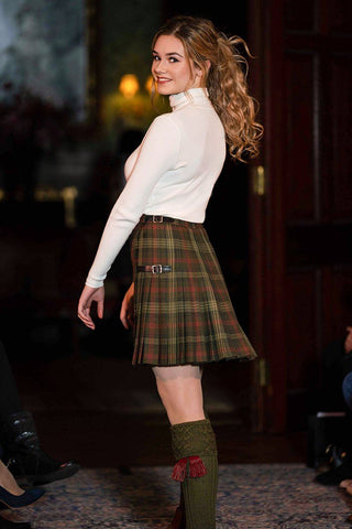 Lady's Custom Tartan Hostess Kilt (Short)