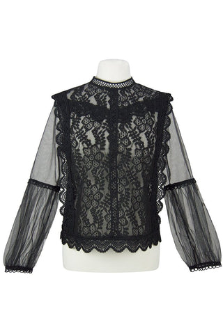 The Georgian Blouse (Jet)